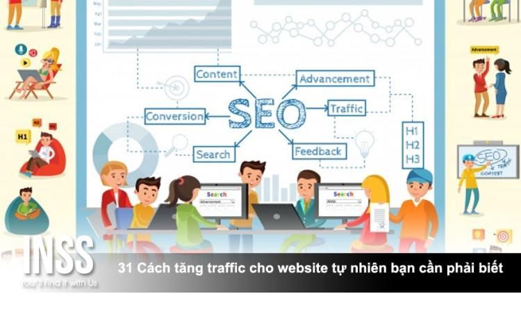 31 Cách tăng traffic cho website tự nhiên bạn cần phải biết